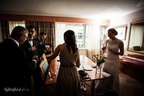 Hochzeitssuite im Hotel Vienna South