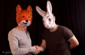 Fuchs und Hase